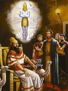 Daniel interpreta el sueño de Nabucodonosor Daniel 2:1-49 ♔
