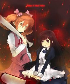 Misao and Aya, very good games- but they are both fucking disturbing. I recommend them both though ^_^  Mad Father: Right Misao: Left