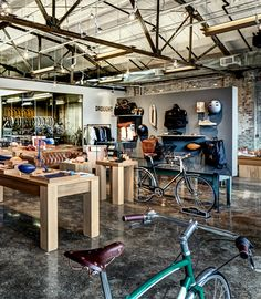 Bike Shop Shinola Detroit