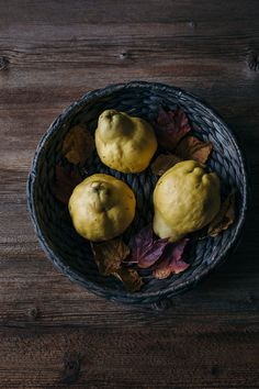 """""""Have you ever had quince? It's such an interesting fruit and I love how perfectly imperfect it is and how it transforms from hard and bitter to sweet and juicy when it's cooked. After cooking it has beautiful sweet flavour that goes so perfectly with spices like cinnamon, vanilla, cloves, anise star"""""""