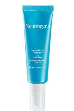 """36 Magical Drugstore Beauty Buys #refinery29 http://www.refinery29.com/cheap-makeup#slide-10 Neutrogena has released a daytime version of its popular Hydro Boost Gel Cream. It provides the same lightweight hydration, but adds SPF into the mix for added protection. (We recommend layering a dedicated sunscreen on top when you plan to spend extra time outdoors).Neutrogena Hydro Boost Water Gel With Sunscreen Broad Spectrum SPF 15, $18.99, available at <a href=""""http:/..."""
