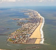 """Ocean City is an Atlantic resort town in Worcester County, Maryland. Ocean City favorite vacation spot for Baltimoreans, who """"go downy Ocean."""""""