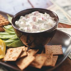 Creamy Radish Dip Recipe from Taste of Home
