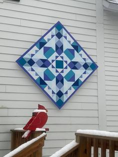 Barn Quilt Designs, Barn Quilt Patterns, Quilting Designs, Painted Barn Quilts, Barn Art, How To Finish A Quilt, Diy Crafts, Indoor Crafts, Wood Crafts