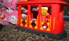 Daniel Tiger Trolley Playset #DanielTigerToys (sponsored)