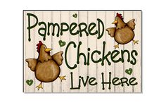 Pampered Chickens Live Here Cream Funny Acrylic Weatherproof Outdoor Sign, Plaque for Chicken Hen Coop House Run Garden Yard Gift 11 x inch. Chicken Coop Decor, Chicken Coop Signs, Chicken Coop Run, Backyard Chicken Coops, Chicken Humor, Chickens Backyard, Chicken Quotes, Chicken Painting, Chicken Art
