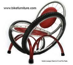 crazy furniture design - Google Search interior design, bike furnitur, bicycles, idea, seat, recycled furniture, wheels, lounge chairs, bike chair