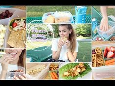 Get Healthy With Me | Packed School Lunches! - YouTube I really want to make the thai lettuce wraps. Great ideas for lunches.
