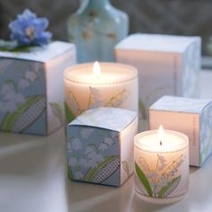 Lily of the Valley scented candles from Designers Guild