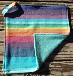 Wrap Scrap Lovie / Security Blanket made from by littlebugfelt, $32.00