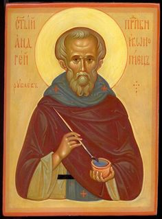 St Andrei Rublev, Iconographer