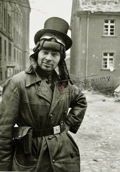 23 best Sven Hassel images on Pinterest   History  Soldiers and     Soviet tank crewman in Berlin