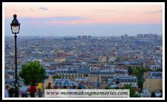 View from Sacre Couer. Paris