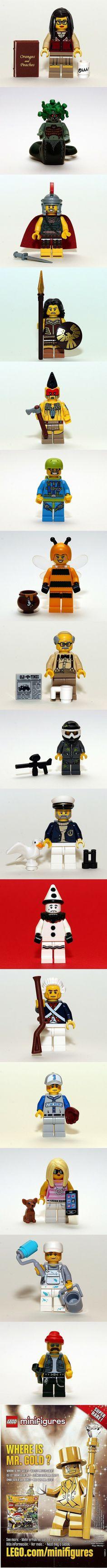 LEGO 71001 - LEGO Collectable Minifigures Series 10 #LEGO