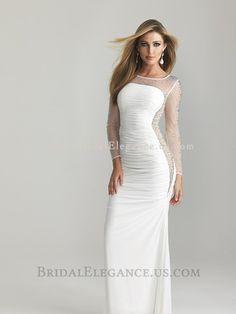 Chic Lace Patchwork Boat Neck Long Sleeve Black Dress on Luulla. Bridal  Elegance c4ed2e315