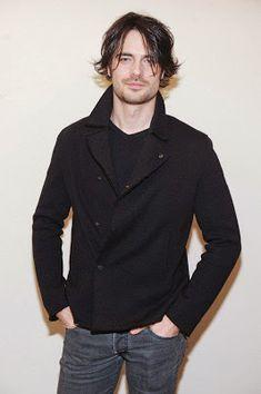 Giulio Berruti- Emporio Armani Man A/W Denim Button Up, Button Up Shirts, Dedicated Follower Of Fashion, Armani Men, Emporio Armani, Italian Men, Hot Hunks, Wattpad, Most Handsome Men