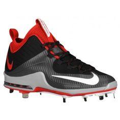 Nike Air Max MVP Elite 2 3/4 Metal - Men's - Baseball - Shoes - Black/White/Dark  Grey/University Red-sku:84687016