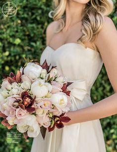 Romântico com atitude, primaveril, com um toque de cor... Veja lindas inspirações de bouquets, do editorial da revista Constance Zahn Casamentos NR. 2.