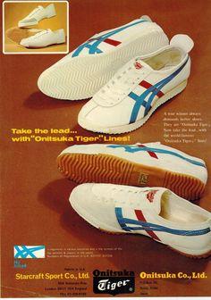 1973 Onisuka Tiger advert
