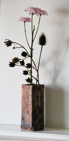 Ikebana April 23, 2011 by clw_and_dog, via Flickr