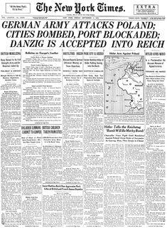 INVASION POLONIA - publicado 2 de Septiembre 1939