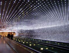 installation made by Leo Villareal