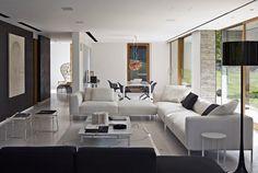 Divano Frank -B&B Italia - Design of Antonio Citterio Commercial Interior Design, Modern Interior Design, Sofa Design, Living Divani, Loft Interior, Italia Design, Upholstered Furniture, Corner Sofa, Dream Decor