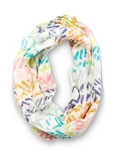 $48 michael stars painted tracks eternity scarf | piperlime #fashion #spring
