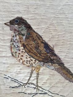 Mandy Pattullo/Thread and Thrift - Some more garden birds