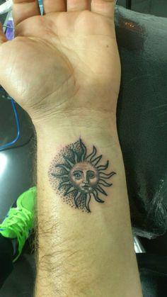 Little sun tattoo