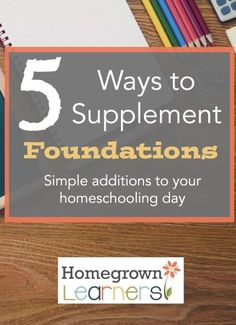 5 Ways to Supplement