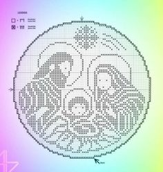 Cross Stitch Patterns, Crochet Patterns, Crochet Christmas Decorations, Box Patterns, Plastic Canvas Patterns, Christmas Cross, Filet Crochet, Cross Stitching, Embroidery Stitches