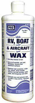 RV Boat and Aircraft Wax
