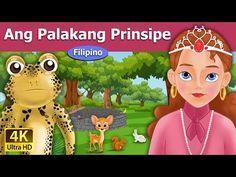 Ang Palakang Prinsipe - kwentong pambata tagalog - Mga Karikatura - U. Prince Stories, Lion And The Mouse, English Story, Parental Guidance, Story Video, Tagalog, 4k Uhd, Youtube, Bedtime Stories