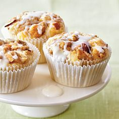 Amaretto Apple Streusel Cupcakes. 12 Best Cupcake Recipes. Favorite Cupcakes. CookingLight.