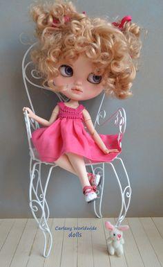 blythe blythes doll dolls muñeca muñecas for sale cute clothes red hair pretty art blonde adoption