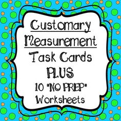 **48 Task Cards ** WITH 10 WORKSHEETS!! Plus a Printable Conversion Chart 4th Grade Common Core Aligned Task Cards are color coded for easy organizing *purple = length *green = weight *pink = liquid volume Task Cards and Worksheets Include *Conversions *Compare measurements with different units *Solve Word Problems