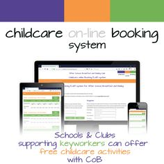We have just set-up our first, free to use (for both parents and childcare settings) for keyworkers, for one of our clubs. Childcare Activities, After School Club, School Clubs, Cob, Software, Parents, Free, Dads, Raising Kids