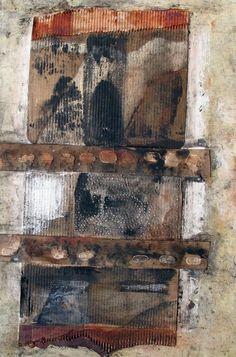 """Saatchi Online Artist: Scott Bergey; Assemblage / Collage, 2011, Mixed Media """"Untitled"""""""