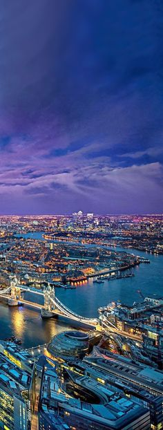 ♥ Thames River, London. My eyes must gave upon this view! This is what heaven must look like.