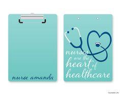Nurse Gift // Personalized Nurse Clipboard