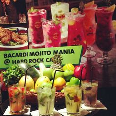 Now summers will be a lot more fun with these exclusive flavored Mojitos at Hard Rock Cafe Mumbai