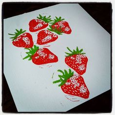 Strawberries #arttotake