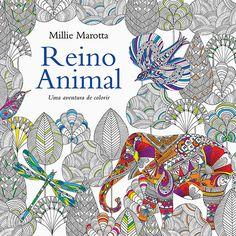 Livro - Reino Animal: Uma Aventura de Colorir