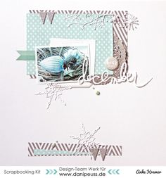 #papercrafting #scrapbook #layouts: December by AnkeKramer at @studio_calico