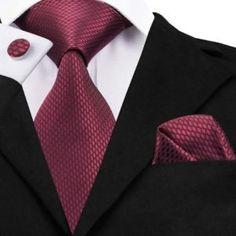 Hi-Tie New Clasic Grey Tie for Men Silk Fabric Jacquard Woven Tie Hanky Cufflinks Set for Men Designer Fashion Silk Ties Blue Tuxedo Jacket, Wedding Party Shirts, Blue Tuxedos, Grey Tie, Cufflink Set, Tie Styles, Tie And Pocket Square, Pocket Squares, Tie Set