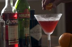 The Enhanced Negroni via Michael Ruhlman on Punchfork