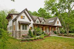 West Meade residence, Nashville. BUILDING IDEAS / David Baird...