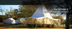 Under Canvas Events - Glamping Tents