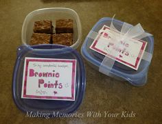 Brownie Points for the Teacher {Teacher Appreciation} - Making Memories With Your Kids
